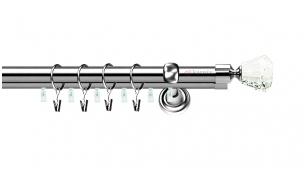 Karnizai Aspen Plius Ǿ19/19 CLAREX inox
