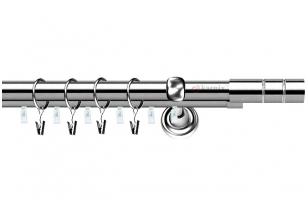 Karnizai Aspen Plius Ǿ19/19 CILINDRAS inox